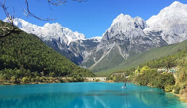 Yunnan scenic spot.